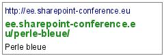 http://ee.sharepoint-conference.eu/perle-bleue/